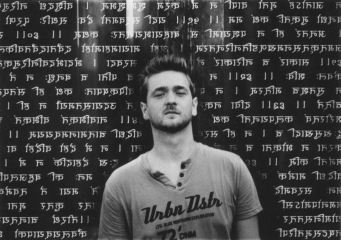 Avadhuta Gita, Young Man, Sanskrit, Writing, Mantra