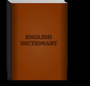 Dictionary, Book, English, School, Study