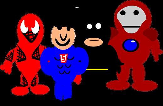 Heroes, Comic, Cartoon, Spider-Man