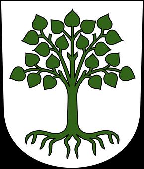 Lindau, Crest, Helmet Plate, Coat Of Arms, Emblem