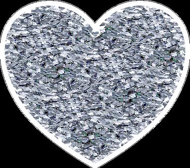 Heart, Glitter, Valentine, Love, Silver, Celebration