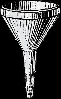 Funnel, Cone, Fluid, Pour, Containment, Spout, Pipe