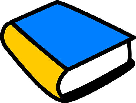 Book, Bound, Hardbound, Blue, Cover, Education, Paper