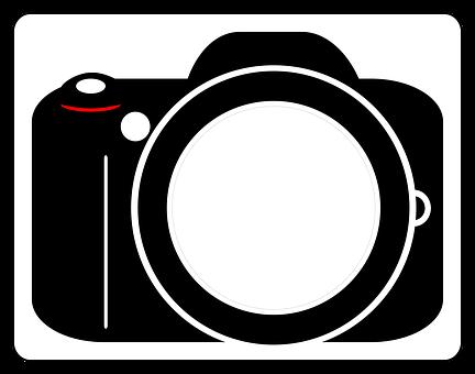 Vector, Photo Icon, Camera, Design, Slr, Dslr