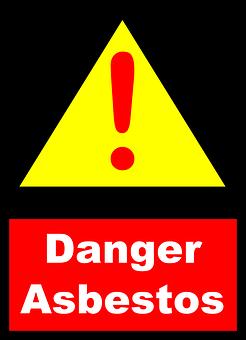 Asbestos, Danger, Warning, Carcinogen