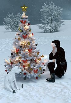 Christmas, Motif, Background