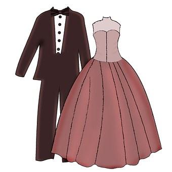 Pair, Bride And Groom, Man, Woman