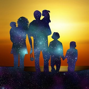Family, Love, Universe, Cosmic, Oneness, Future