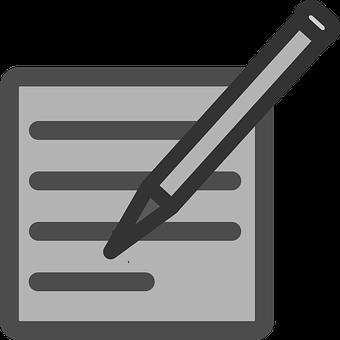 Write, Author, Pencil, Pen, Draft, Paper, Note