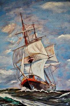 Boat, Sea, Ship, Ocean, Marine, Yacht
