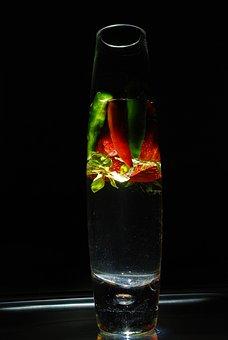 Backlit, Backlight, Still Life, Glass, Abstract