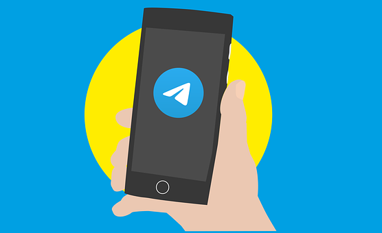 Telegram, Social Network, Banner, Internet, People