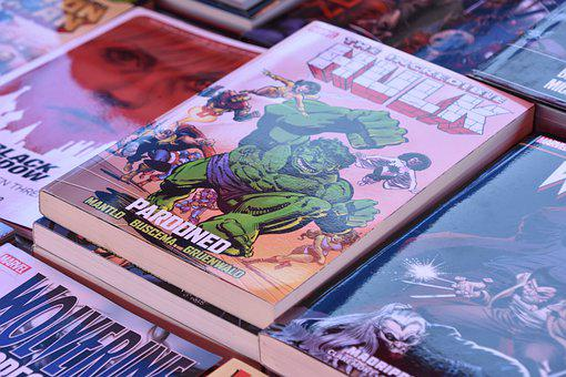 Comic, Fair, Book, Market, Marvel