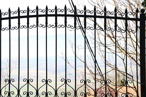 Fence, Iron, Old, Forged, Historic, Retro, Artwork