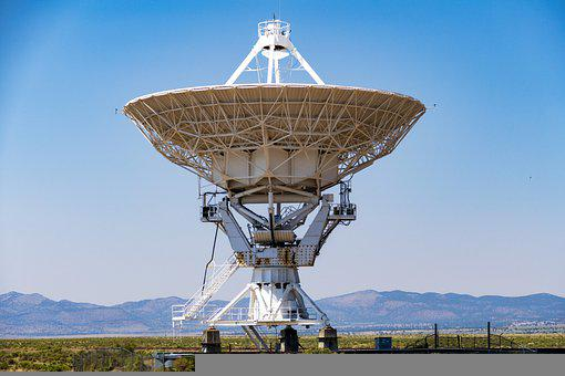 Telescope, Dish, Array, Very, Large, New Mexico, Space