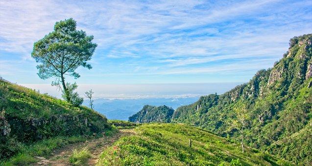 Devil's Staircase, Sri Lanka Mountains, Peak, Rock