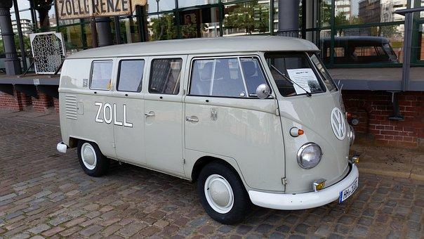 Hamburg, Customs Museum, Vw, Bus, Volkswagen, Nostalgic