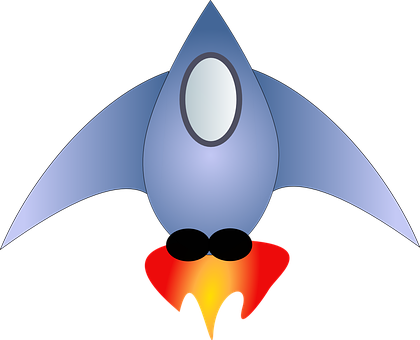Rocket, Space, Spaceship, Take-off, Fly, Fire, Window