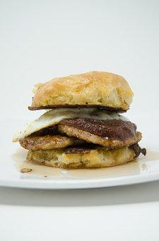 Breakfast Sandwich, Sandwich, Breakfast, Food, Meal