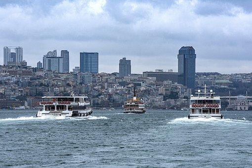 Istanbul, Turkey, Architecture, Buildings, Skyscraper