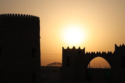 Doha Qatar, Al Khoor, Sunset