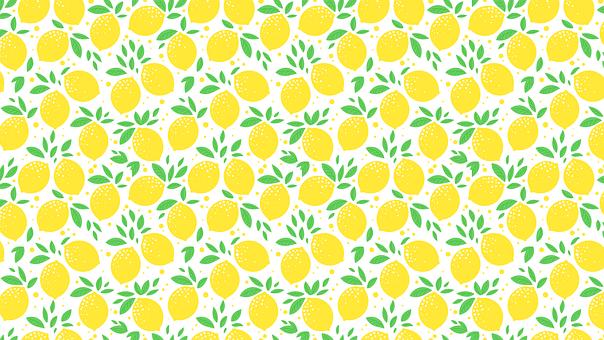Lemon, Template, Sheet, Foliage, Citrus