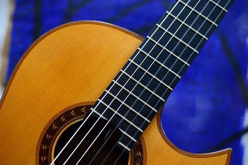 Guitar, Blue, Music, Instrument, Jazz