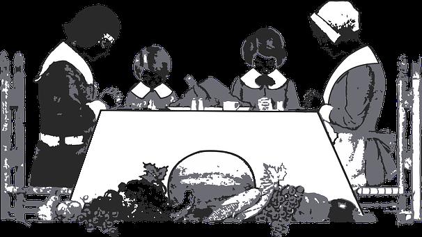Thanksgiving Dinner, Pilgrim, Puritan