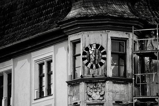 Clock, Steeple, Clock Tower, Church