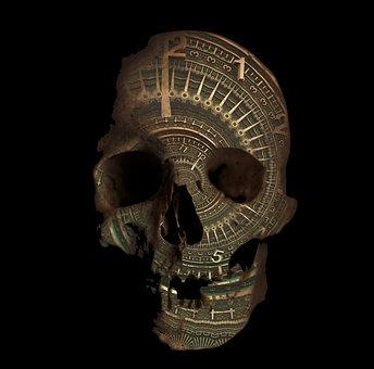 Time, Death, Skull, Transience, Destiny, Mystical