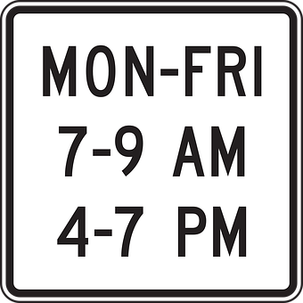 Drive, Car, Road, Time, Information, Restriction