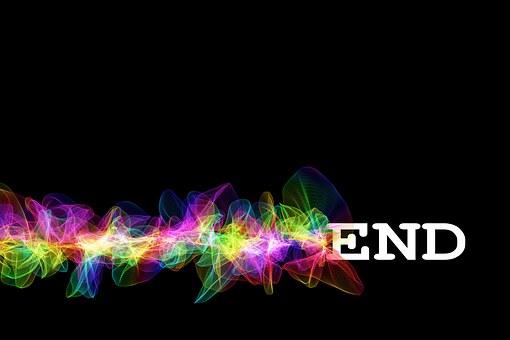 End, Final, Particles, Color, Colorful