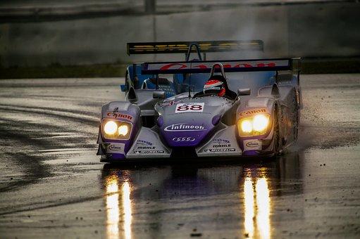 Auto, Motor, Racing Car, Race Track, Ring, Vehicle