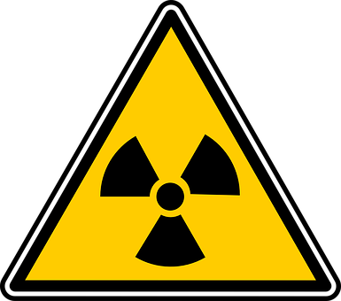 Nuclear, Zone, Sign, Symbol, Radiations, Cautions