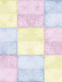 Quilt, Box, Background, Design, Textiles, Geometry