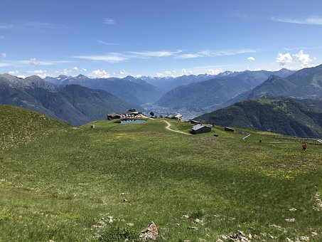 Alpe Foppa, Alpine Route, Alps, Alpine, Adventure, Walk