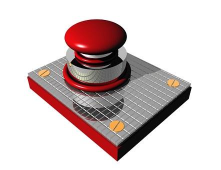 Button, Press, Stop, Business