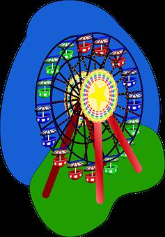 Fest, Big, Fair, Ferris, Festival, Fete