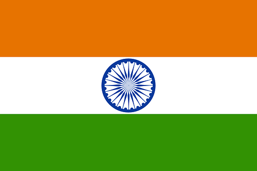 India, Flag, Indian, National