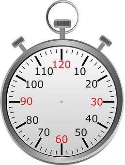 Stop Watch, Time, Seconds, Minute