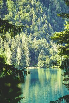 Nature, Lake, Landscape, Mountains, Water, Rest, Forest