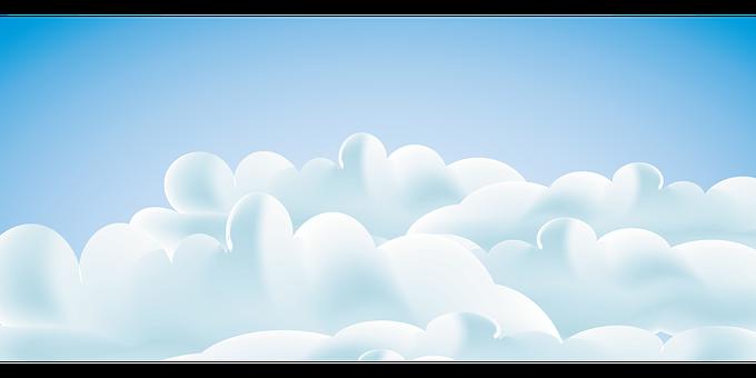 Cloud, Sky, Sky Clouds, Blue Sky Clouds