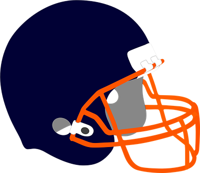 Helmet, Protection, Football, Basketball, Sport, Blue