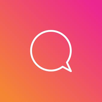 Instagram, Insta, Message, Talk, Icon, Social Networks