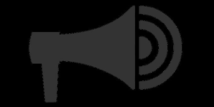 Auto Speaker, Sound, Icon, Volume, Announce, Megaphone