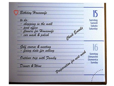 Appointment Scheduler, Calendar, Planning, Dates