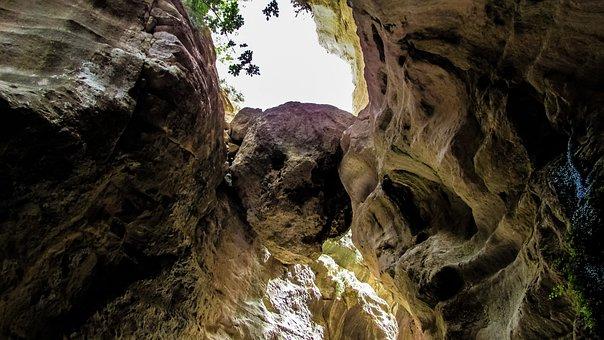 Cyprus, Akamas, Avakas Gorge, Rock, Hanging, Gorge