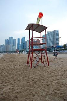 Beach, Sand, Sea, Busan, Sandy Beach, Beautiful Beaches