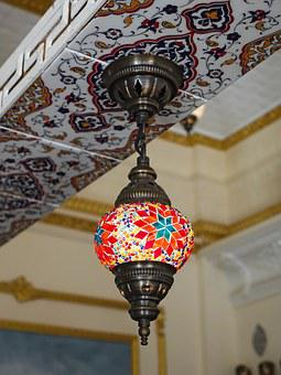 Moroccan, Turkish, Lighting, Bright, Decoration, Design