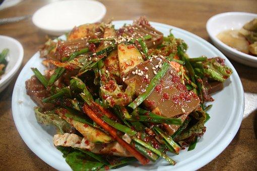 Busan, Dotorimuk, Korean Food